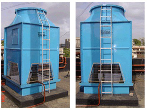 Compact Draft Cooling Tower