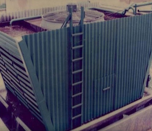 Cross flow Designed Cooling Tower